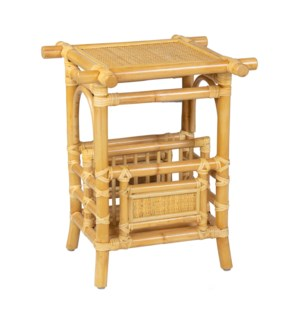 "Pagoda Side Table, 18"" Square"