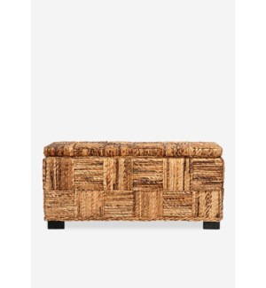 Marina Abaca Double Bench w/ storage (39x14x18)