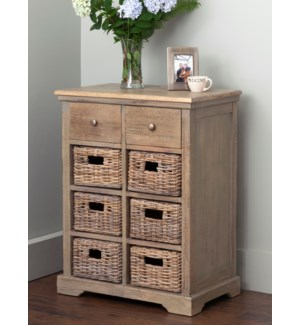 Simone Cabinet 2 Drawers and 6 Baskets