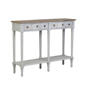 """Josephine 24"""" Console Table with Drawer and Shelf"""