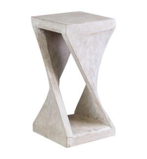 Riley Twist Wooden Side Table
