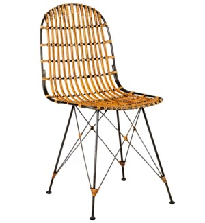 Jane Dining Chair, Honey