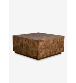 Arcadia Square Coffee Table-Square-Walnut (36.5X36.5X18.5)