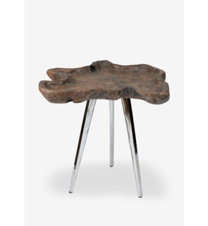 (SP) Allure Side Table - Natural (18x16x21.5)