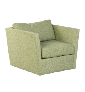 Soma Swivel Club ChairFabric: Tremor CloverSeat: Down WrapBack: Blend Down