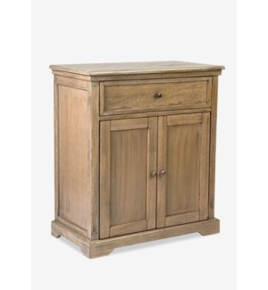 Naomi Cabinet2 Doors/1 DrawerMango with Grey Wash29.5X16X33.5