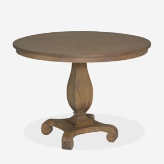"Remington 30"" Round Table-Antique Oak Finish (30x30x27)"