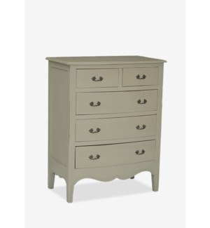 (LS) Remington Tall Dresser with 5 Drawers (33.5x19x42)