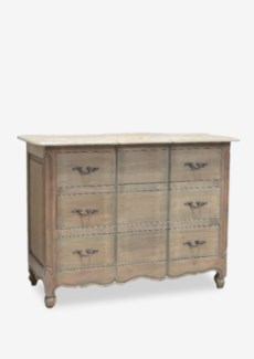 (LS) Emma 3-Drawer Dresser with Guilded Handles (47x22x35)..