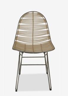 (LS) Clay Side Chair-White (20x22x35)