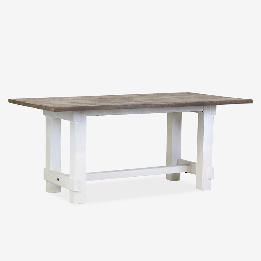 Chauncey Rectangle Dining Table With Natural Fir Top