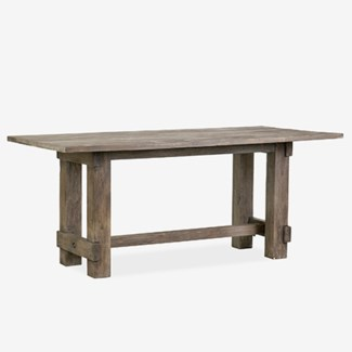 Chauncey Rectangle Dining Table - Grey Patina (72X36X30)