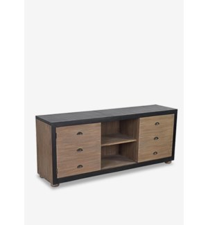 (33.39% Off) Ellington TV Media Cabinet with 2 doors and 1 shelf