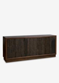 (LS) Forest 3 door cabinet with reclaimed teakwood panels..(70X18X31)..