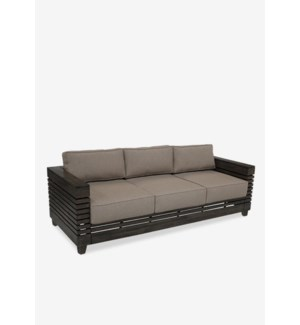 (LS) Lincoln solid teakwood sofa ..(81.5X32X24)....