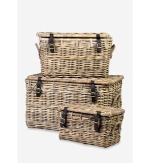 Marine Baskets - Set of 3 (30x19x19/26x15x15/19x11x11)