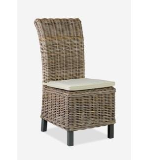 Samurai Chair KG - Oatmeal MOQ 2  (19x25x41)