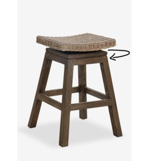Carmen Counterstool-Grey Wash (17x17x24) (Assembly Required)