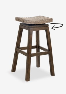 Carmen Barstool-Grey Wash (17X17X29.5)(Assembly Required)