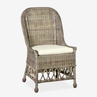 Daphnie Rattan Side Chair (22X23X39)