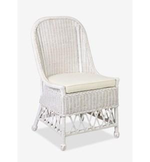Daphnie Rattan Side Chair (22X23X39)....