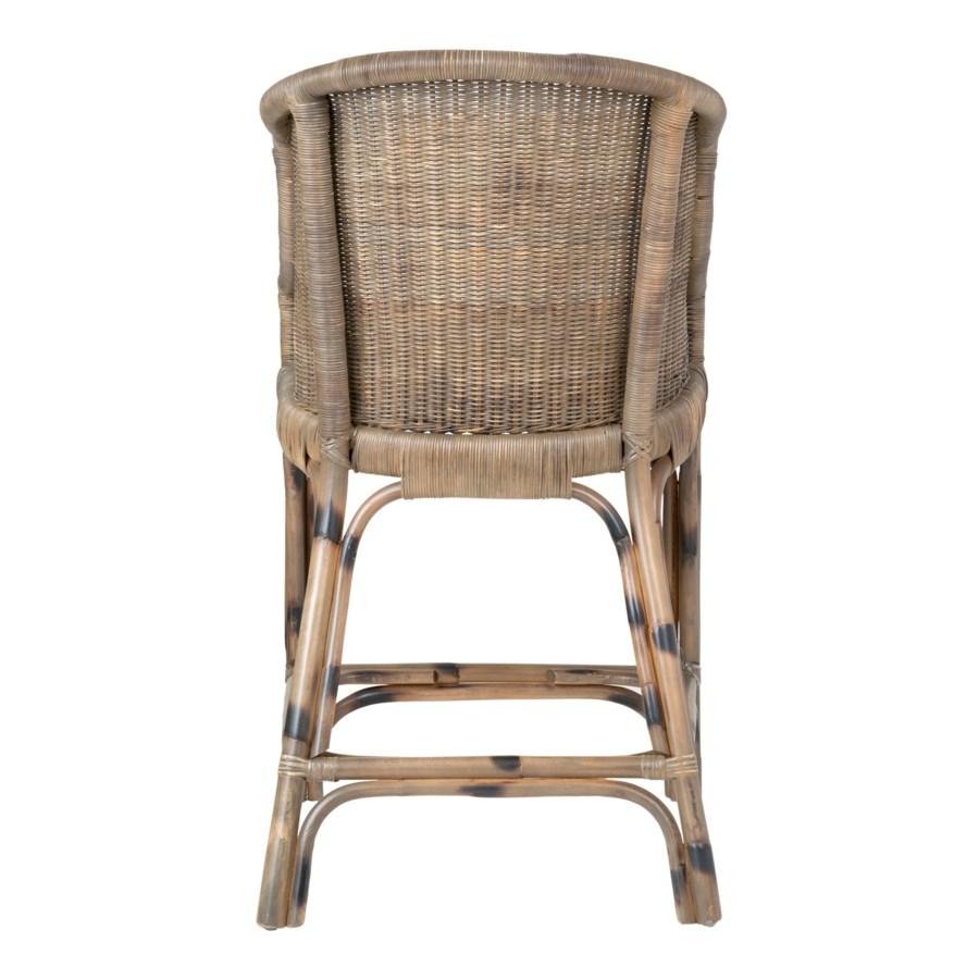 Ls Daphnie Rattan Counterstool Grey Wash 21x20 5x38