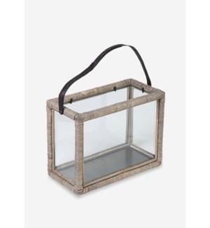 (LS) Estero Double Lantern - Grey..(15.7x8x12)..