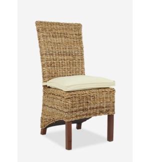 Farania Side Chair MOQ 2  (18x23x39) (package: 2pcs/box) price is per piece
