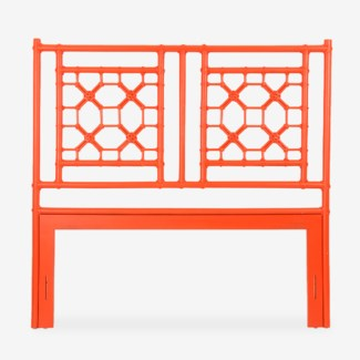(LS) Lattice Headboard-Queen - Orange(62X2X60)