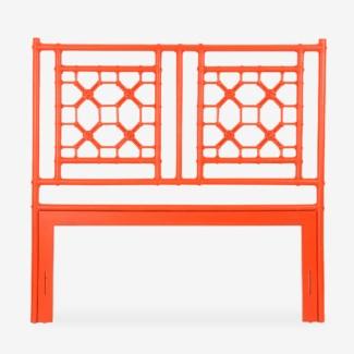 (SP) Lattice Headboard-Queen - Orange(62X2X60)