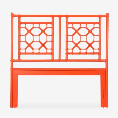 (LS) Lattice Headboard-Queen - Orange(62X2X60)