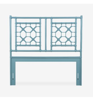 Lattice Headboard-Queen - Sky Blue (62X2X60)