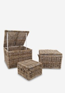(LS) Braden Baskets - Set of 3 (31X31X22/25X25X18/18X18X12)