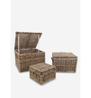 Braden Baskets - Set of 3 (31X31X22/25X25X18/18X18X12)