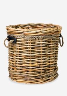 (LS) Leeton Round Basket - Large(24X24X22)