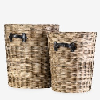Rana Baskets - Set of 2 (18x18X20.5/15x15X16)