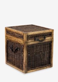 (LS) Seaton Trunk Rattan..(18x18x20)....
