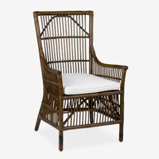 (LS) Winston Rattan Dining Arm Chair MOQ 2 (23.6X25.2X41.3)..