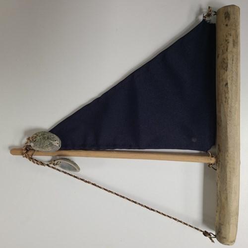 DRIFTWOOD BOAT BLUE SAIL