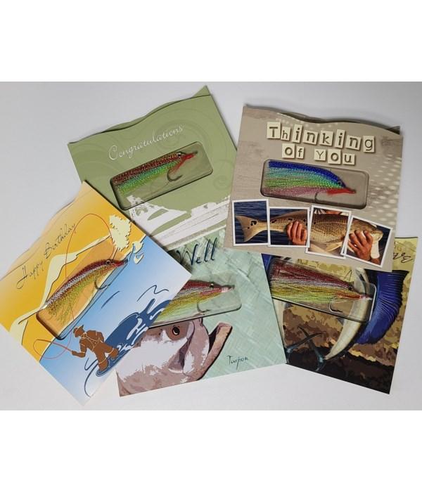 FISHING LURE CARD