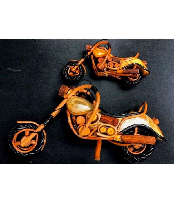 "10"" WOOD MOTORCYCLE"