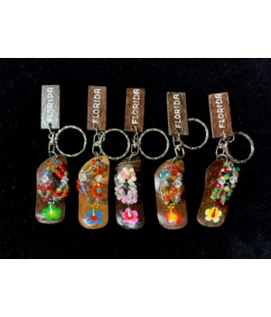 KEYCHAINS - COCONUT FLIP FLOP