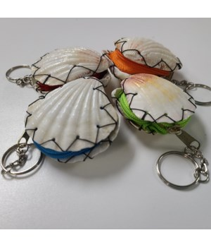 SHELL COIN PURSE KEY CHAIN