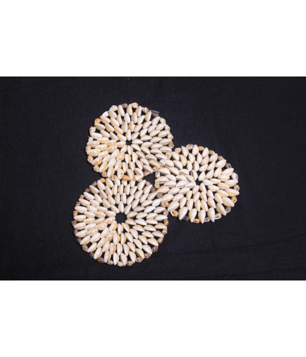 """4"""" COWRIE PLACEMATS"""