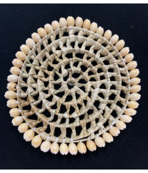 """6"""" COWRIE EDGE PLACEMAT"""