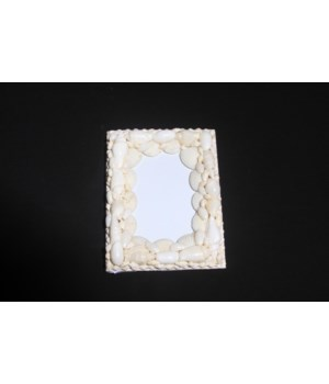 PICTURE FRAME - WHITE SHELL