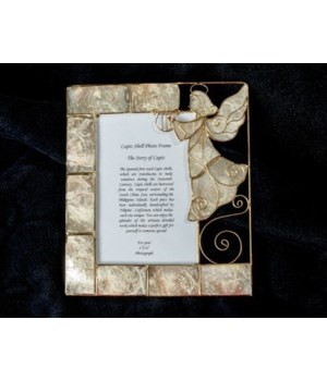 PICTURE FRAME - ANGEL CAPIZ