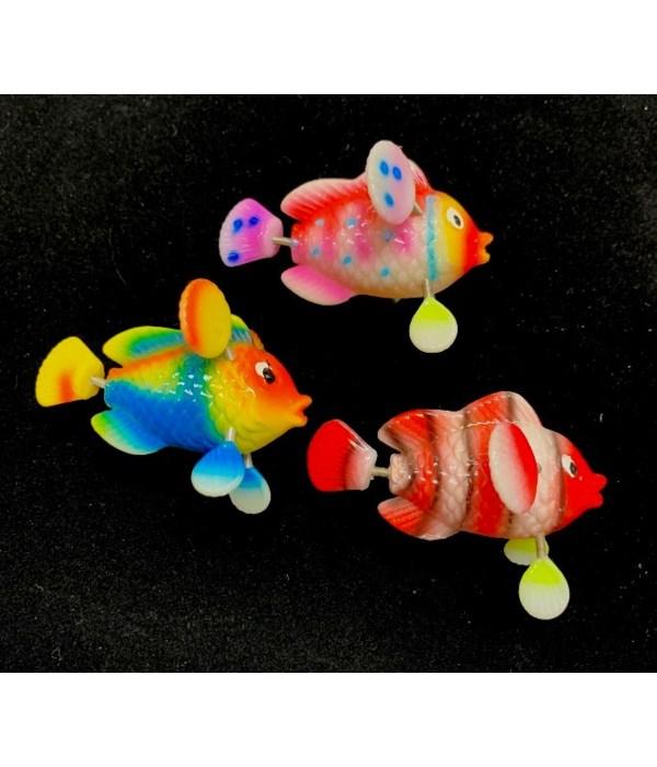 CLOWN FISH SPRING MAGNET