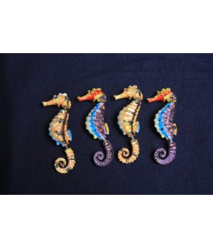 SPRING MAGNET - SEAHORSE