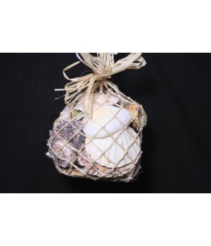 ABACCA SHELL NET BAG